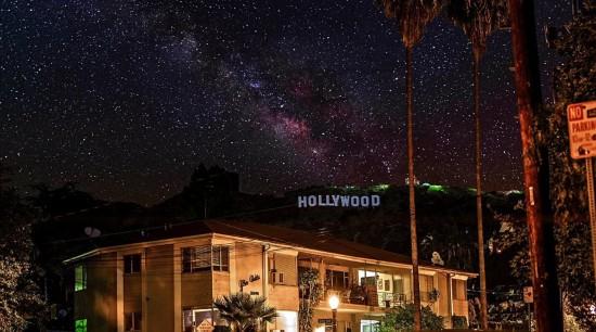 美摄影师拍摄延时短片 都市重现银河之美【5】