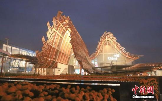 揭秘米兰世博会中国馆 外形如同金色麦浪