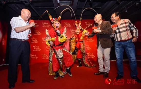 六小龄童版美猴王蜡像入驻杜莎 3D魔幻电影启动