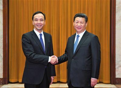习近平会见国民党主席朱立文:欢迎台湾加入亚投行