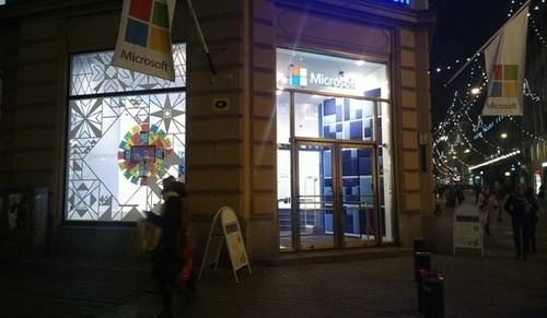 外媒:微软现已关闭诺基亚芬兰旗舰店