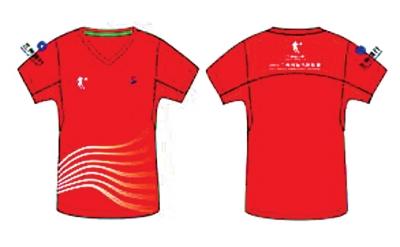 2015兰马赛:运动员服装确定为中国红