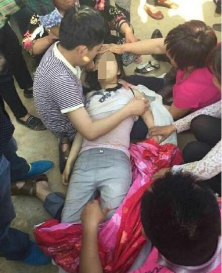 淅川14岁少女救俩8岁落水儿童 3人全溺亡