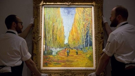 梵高画作6630万美元拍卖描绘法国秋天图景(图)