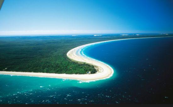 世界最大沙积岛 美到窒息的弗雷泽岛