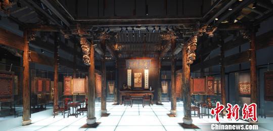 中国木雕博物馆生活厅 中国木雕博物馆供图 摄