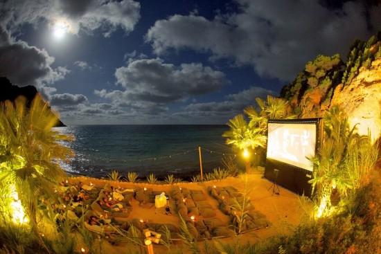盘点全球10个最受欢迎的露天影院(图)