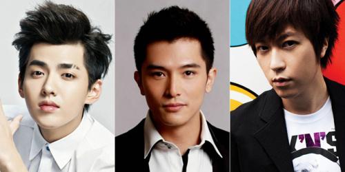 完美男神:吴亦凡、邱泽、阿信