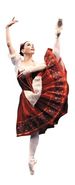 """""""圈神""""塔玛拉・罗霍:谁说跳芭蕾不能吃冰淇淋"""
