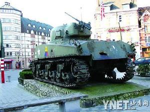 """这辆坦克已经在这里""""驻扎""""了60年"""