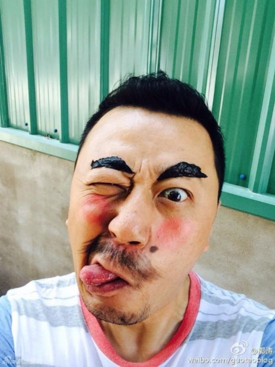 Bigbang太阳晒搞笑照片 明星搞怪犯二大起底