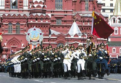 """中国三军仪仗队将在俄红场""""踏响""""《喀秋莎》"""