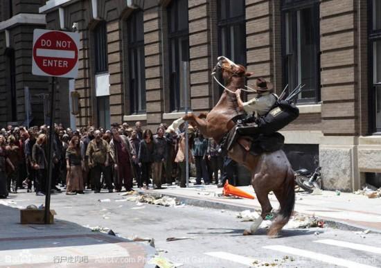 《行尸走肉》第一季至第四季精彩剧照盘点