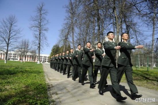 探访中国红场阅兵三军仪仗队驻地