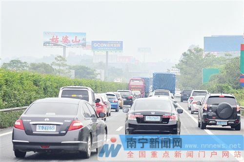 南宁至六景段高速路改扩建9月开工 琅东收费站外迁