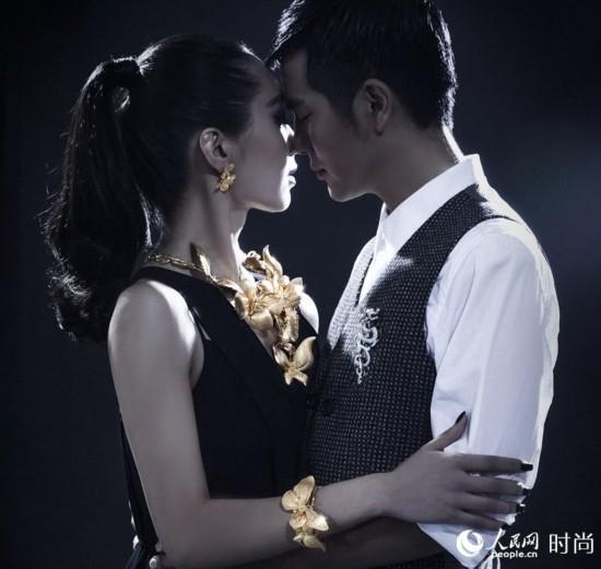 张晓龙绅士上演华丽探戈 搂美女性感热舞