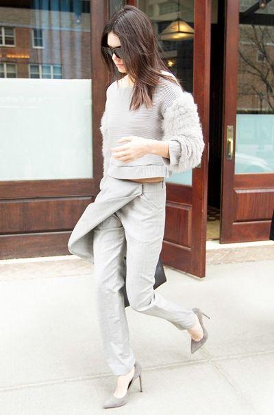 让裤子和裙子相爱吧,刘雯带你一起穿裙裤
