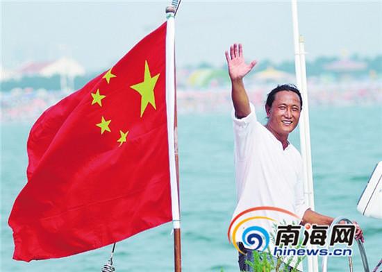 中国环球航海第一人重走海上丝绸之路(图)