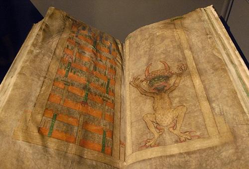 探秘魔鬼圣经:仅有一人笔迹传说为魔鬼作品