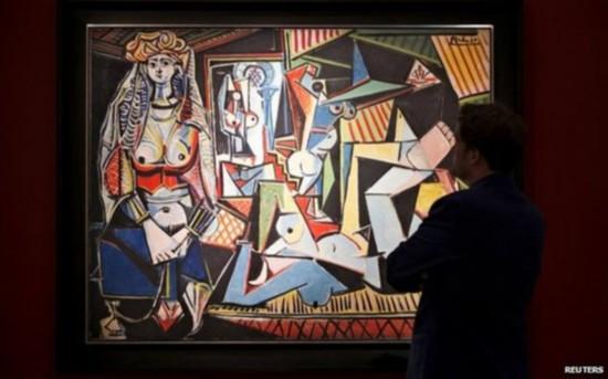 毕加索名画拍出1.79亿美元天价 创全球艺术品拍卖纪录