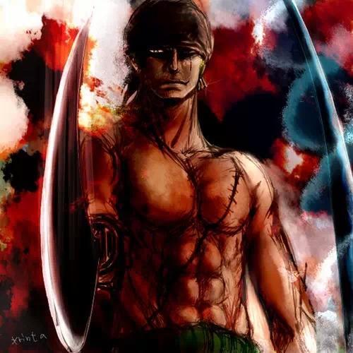 路飞/在677中,罗斩断了海楼石手铐,当时很多人还在争论是如何做...