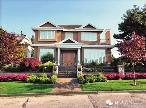 程慕阳的家,位于温哥华西区的橡树岭社区。