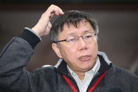 台北市长柯文哲称每天读书少自觉越来越笨(图)