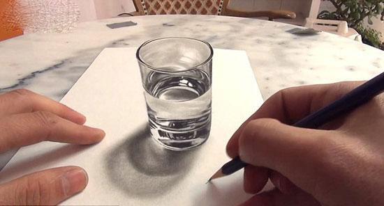 俄艺术家用新颜料技术创作立体画
