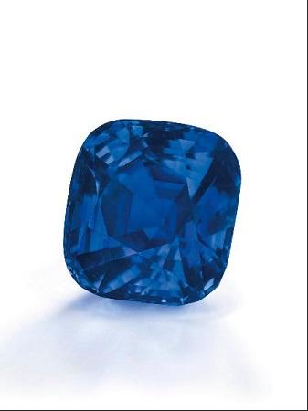 35克拉蓝宝石730万美元拍卖创单克最高价纪录