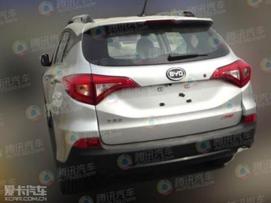 奔驰全新GLC 奥迪小型SUV领衔 周末谍报图片