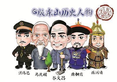 林日瑞,唐朝彝等五位人物q版形象的绘制,但当时囿于绘图工具单一和q版