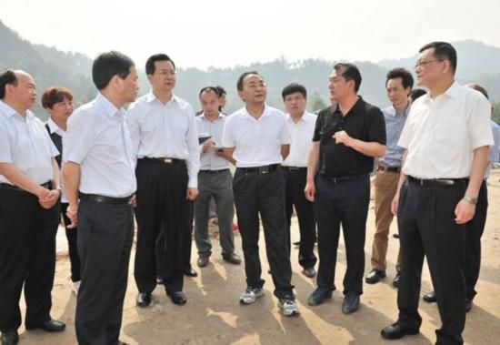 四川省委常委,省委农工委主任李昌平到恩阳区督查调研