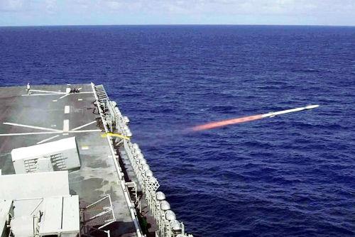 资料图:美国Block 2导弹发射