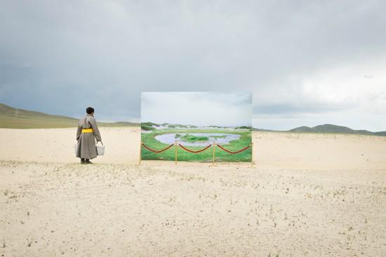 蒙古未来主义摄影警示草原荒漠化(图)【4】