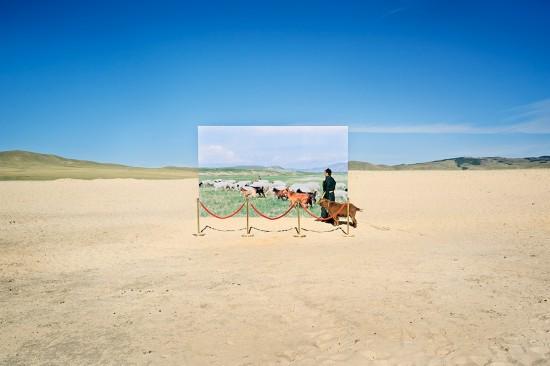 蒙古未来主义摄影警示草原荒漠化(图)【7】