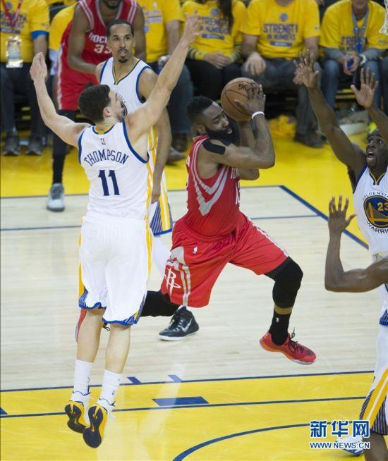 NBA西部决赛首轮勇士vs火箭 勇士1比0领先(比