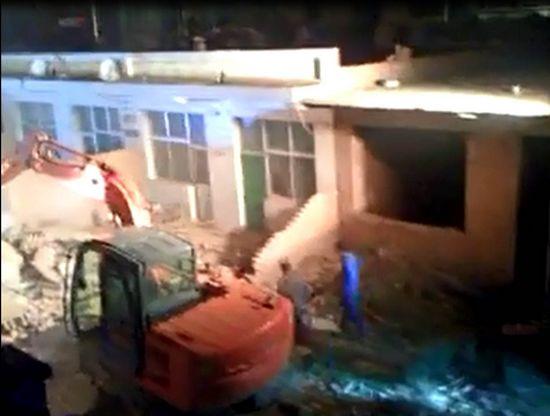 山西临县发生黄土崩塌事故9人被埋已救出3人(图)
