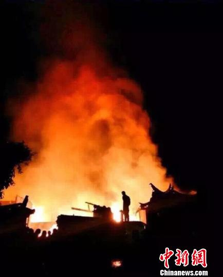 云南泸沽湖景区发生火灾暂无人员伤亡报告