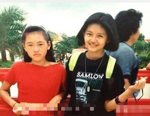 徐熙媛、徐熙娣  徐熙媛、徐熙娣姐妹俩小时候和现在轮廓其实差不多,没有太大的变化。