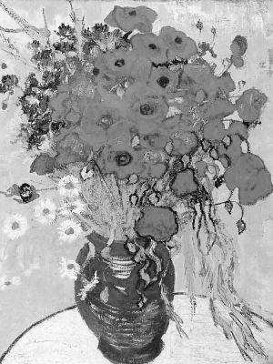 价值3.77亿元人民币的梵·高晚期画作《雏菊与罂粟花》