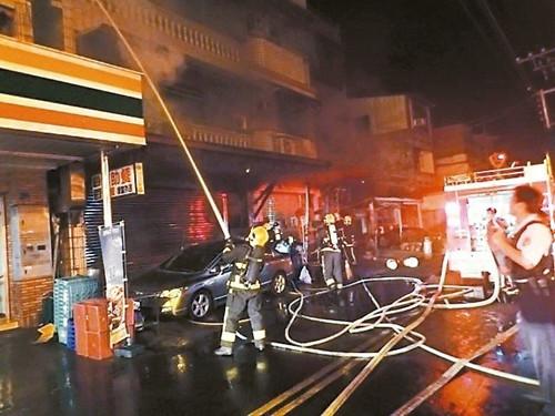 台灣一男子不滿女友提分手放火燒其全家(圖)