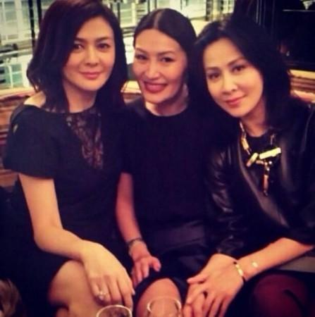 劉嘉玲、關之琳與鐘麗緹