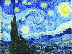 卫星图片酷似梵高名画《星夜》