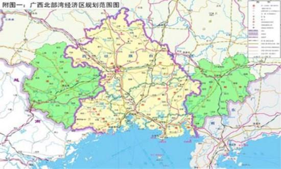岑溪市地区发展规划图