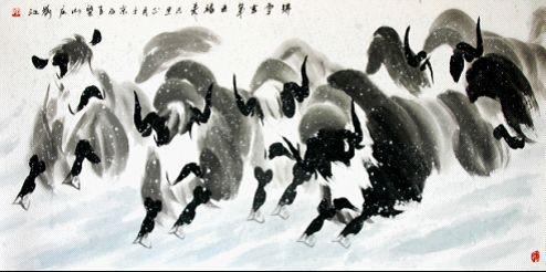 中国风采 西部名家书画作品撷萃与鉴赏图片