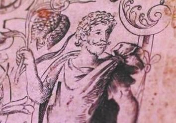 16世纪发表的雕版画。资料图片
