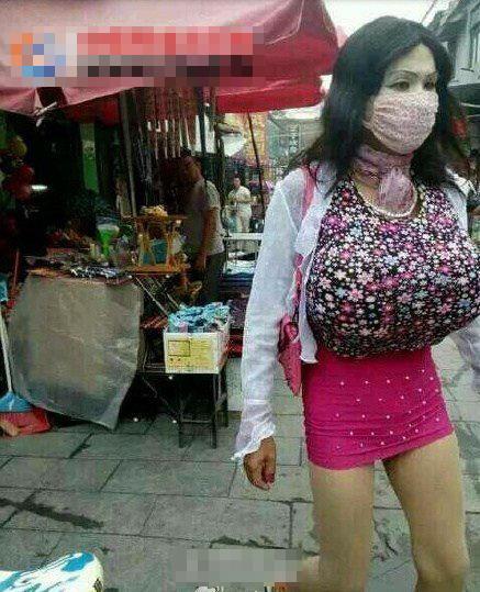 山东男子假扮巨胸女到女厕偷窥 被拘留