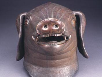 圆明园猪首铜像
