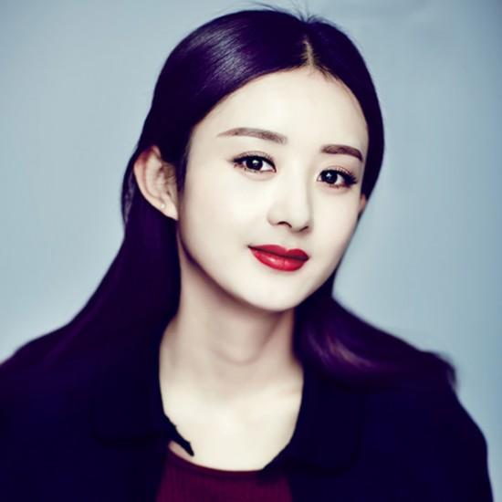 赵丽颖发型精选 百变发型甜美迷人图片