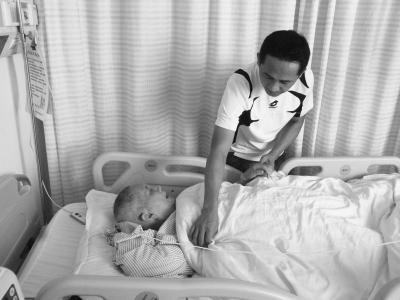 7旬阿公急需熊猫血做手术 家人盼好心人献血